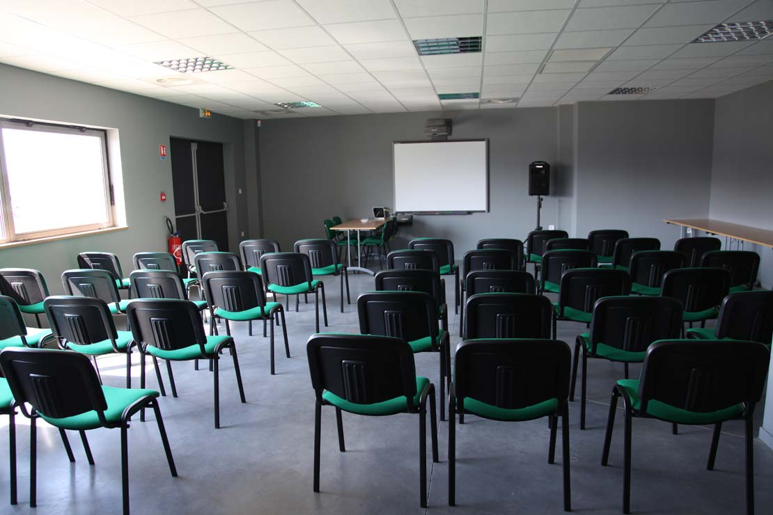 Semniar room of the ellip6 centre in Pierrelatte